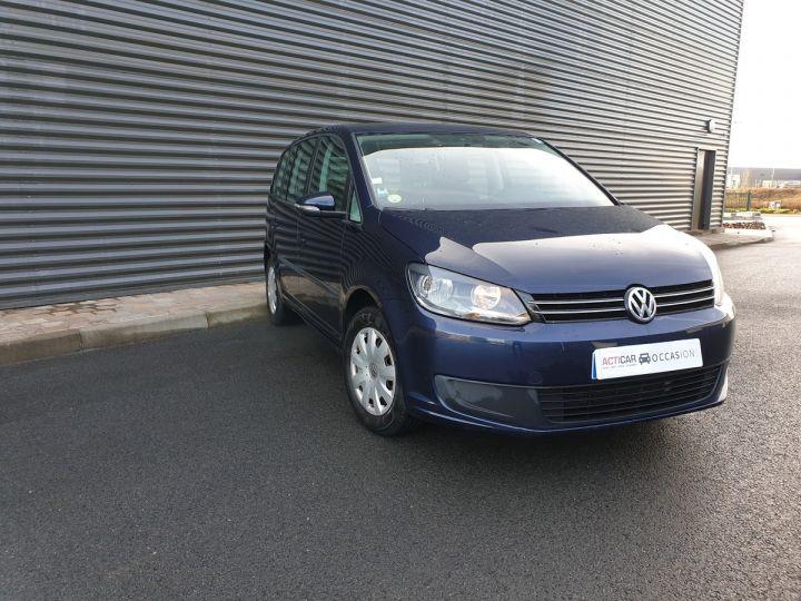 Volkswagen Touran 1.6 TDI 90 BV6 1ére Main IIII Bleu Métallisé Occasion - 2