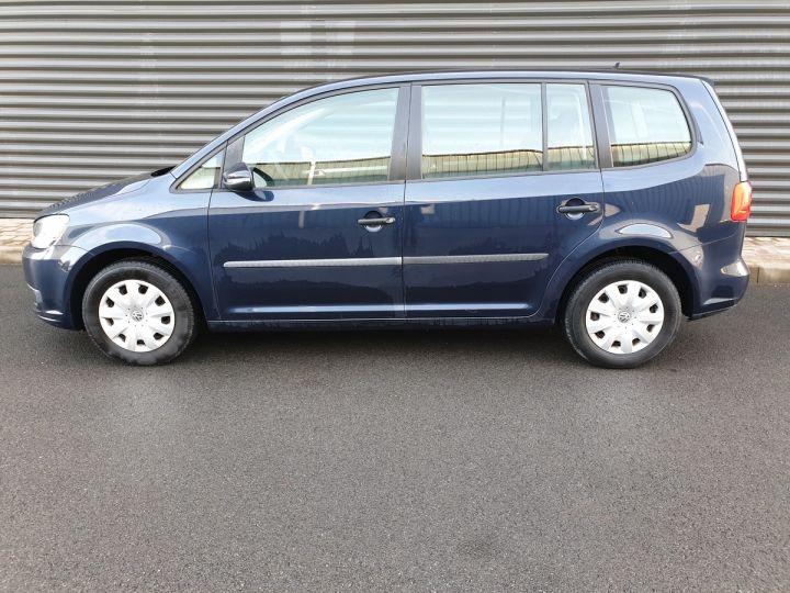 Volkswagen Touran 1.6 TDI 90 BV6 1ére Main IIII Bleu Métallisé Occasion - 3