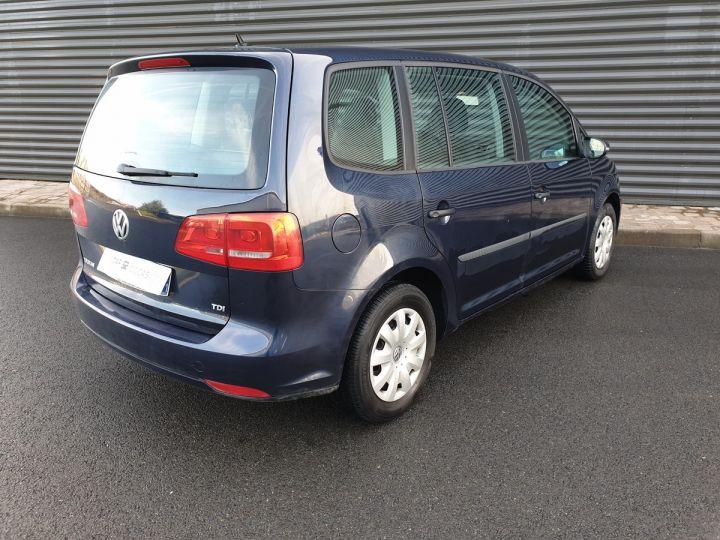 Volkswagen Touran 1.6 TDI 90 BV6 1ére Main IIII Bleu Métallisé Occasion - 10