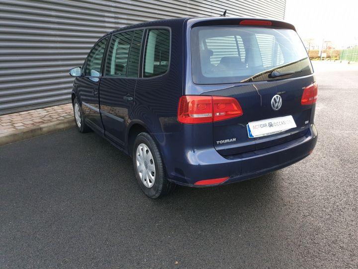 Volkswagen Touran 1.6 TDI 90 BV6 1ére Main IIII Bleu Métallisé Occasion - 11