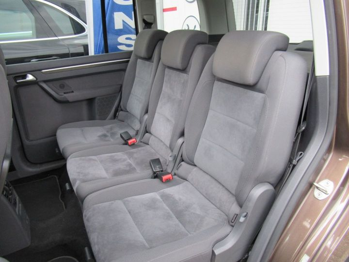 Volkswagen Touran 2.0 TDI 140CH FAP CARAT Marron - 6