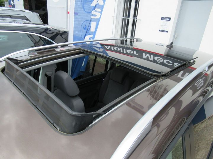 Volkswagen Touran 2.0 TDI 140CH FAP CARAT Marron - 7