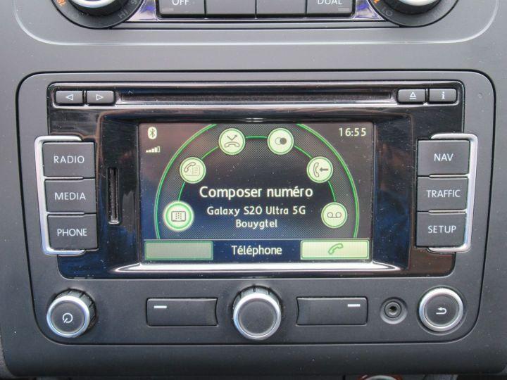 Volkswagen Touran 2.0 TDI 140CH FAP CARAT Marron - 14