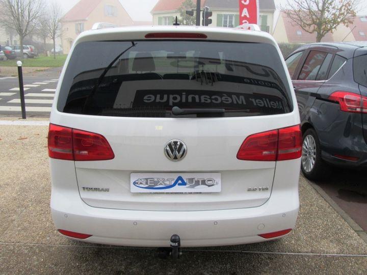 Volkswagen Touran 2.0 TDI 140CH FAP CONFORTLINE Blanc Occasion - 7