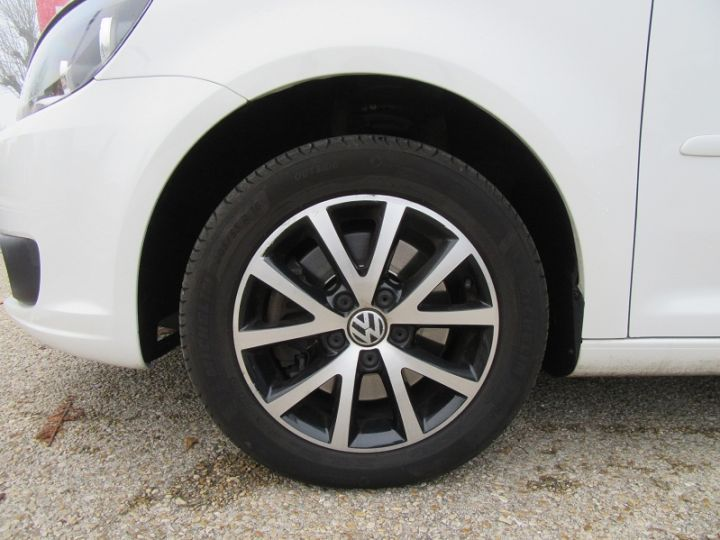 Volkswagen Touran 2.0 TDI 140CH FAP CONFORTLINE Blanc Occasion - 14