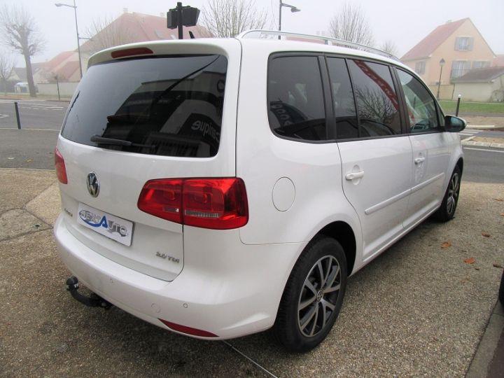 Volkswagen Touran 2.0 TDI 140CH FAP CONFORTLINE Blanc Occasion - 15