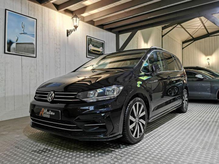 Volkswagen Touran 2.0 TDI 150 CV CARAT BVA 7PL Noir - 2