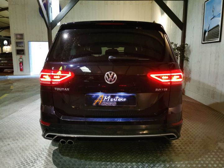 Volkswagen Touran 2.0 TDI 150 CV CARAT BVA 7PL Noir - 4