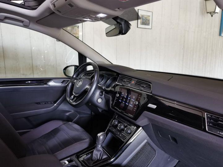 Volkswagen Touran 2.0 TDI 150 CV CARAT BVA 7PL Noir - 7