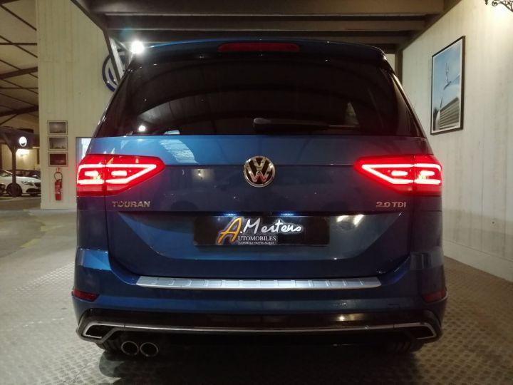 Volkswagen Touran 2.0 TDI 150 CV RLINE DSG 7PL Bleu - 4