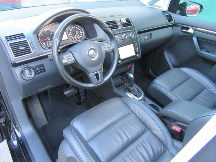 Volkswagen Touran 2.0 TDI 177CH FAP CARAT DSG6 NOIR Occasion - 2