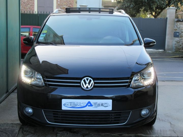 Volkswagen Touran 2.0 TDI 177CH FAP CARAT DSG6 NOIR Occasion - 6