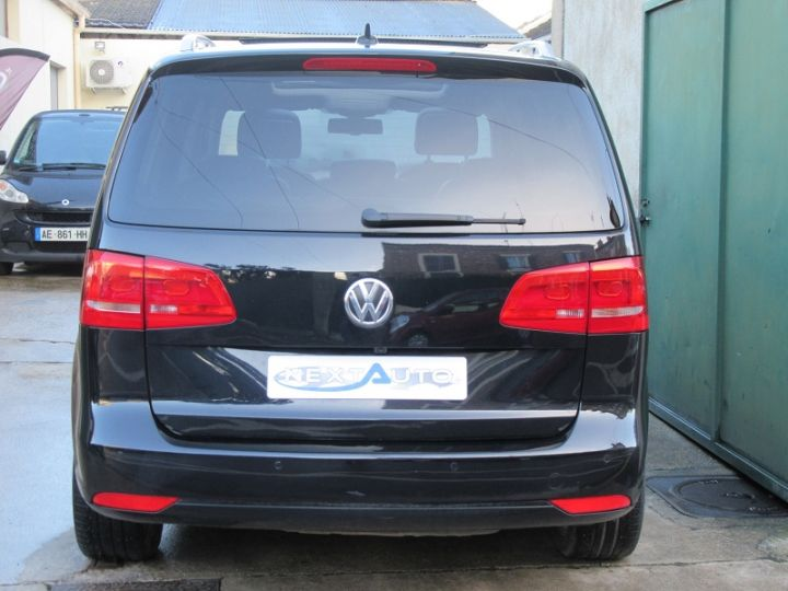 Volkswagen Touran 2.0 TDI 177CH FAP CARAT DSG6 NOIR Occasion - 7