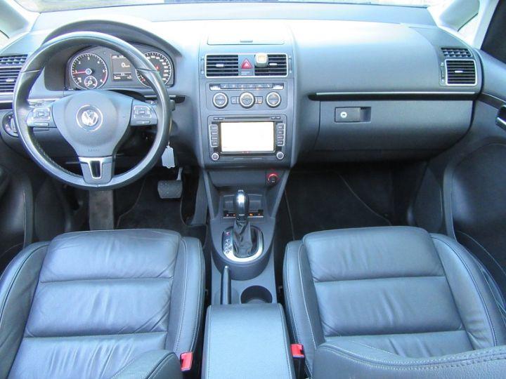 Volkswagen Touran 2.0 TDI 177CH FAP CARAT DSG6 NOIR Occasion - 8