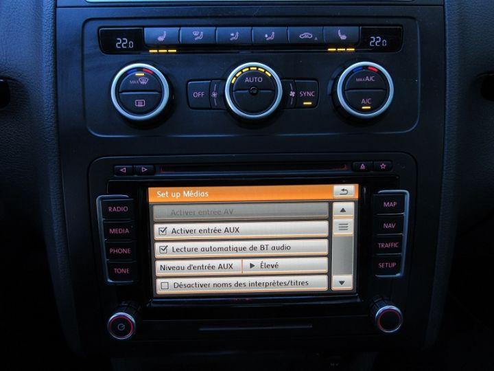 Volkswagen Touran 2.0 TDI 177CH FAP CARAT DSG6 NOIR Occasion - 20