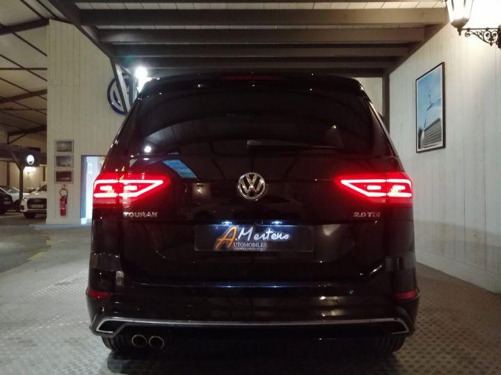 Volkswagen Touran 2.0 TDI 190 CV R-LINE DSG 7PL Noir - 4
