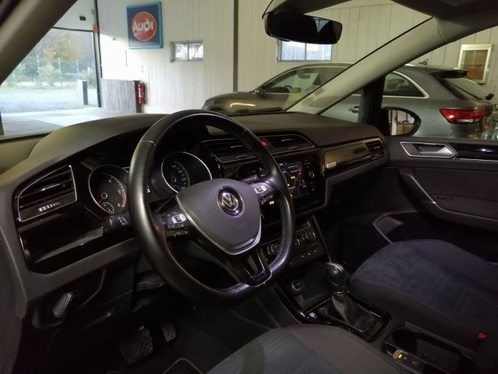 Volkswagen Touran 2.0 TDI 190 CV R-LINE DSG 7PL Noir - 5