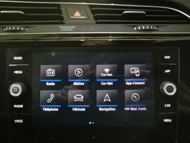 Volkswagen Touran 2.0 TDI 190 CV R-LINE DSG 7PL Noir - 12