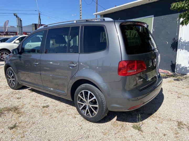 Volkswagen Touran CONFORTLINE GRIS FONCÉ MÉTAL  Occasion - 4