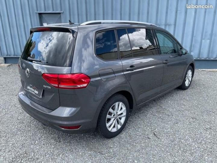 Volkswagen Touran tdi 150 confortline business + toit ouvrant Gris - 10