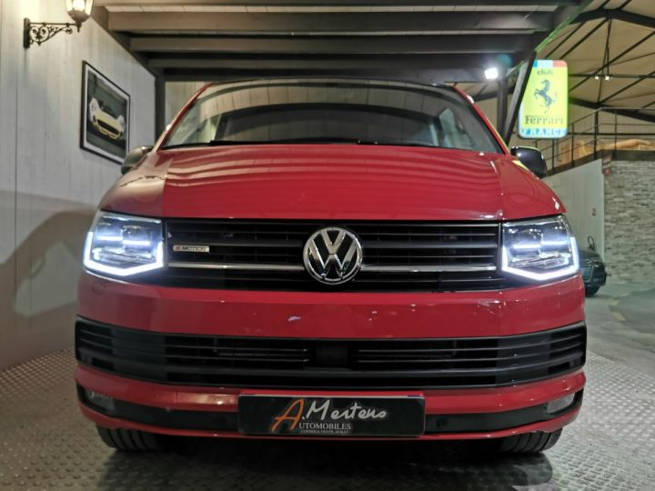 Volkswagen Transporter 2.0 TDI 204 CV 4MOTION BVA PROCAB EDITION Rouge - 3