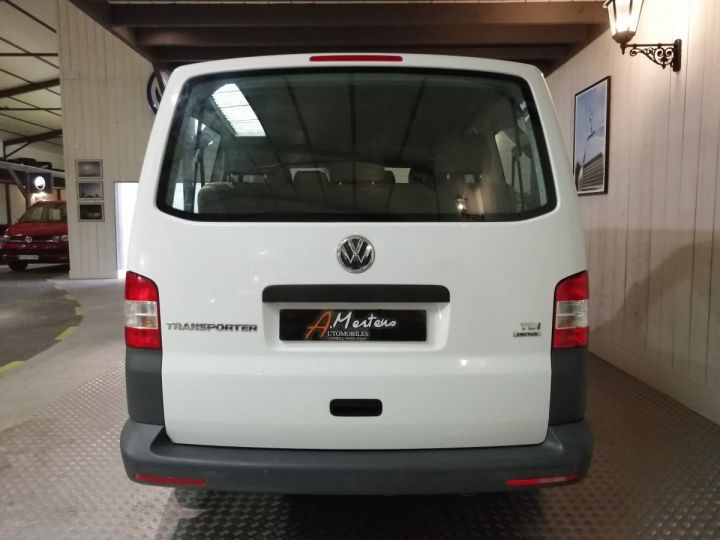 Volkswagen Transporter COMBI 2.0 TDI 140 CV 4MOTION 9PL Blanc - 4