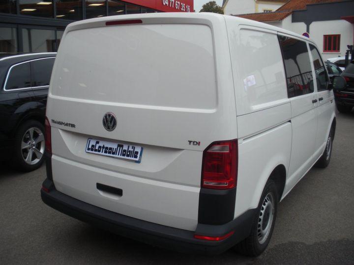 Volkswagen Transporter TRANSPORT 2.0 TDI 150cv BUSINESS LINE DSG 7 blanc - 4
