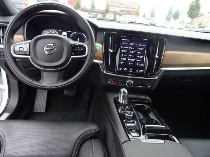 Volvo S90 T8 TWIN ENGINE 320 + 87CH INSCRIPTION GEARTRONIC BLANC Occasion - 7