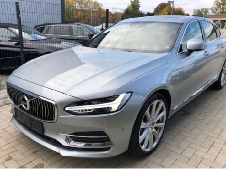 Volvo S90 T8 TWIN ENGINE 320 + 87CH INSCRIPTION LUXE GEARTRONIC GRIS Occasion - 1