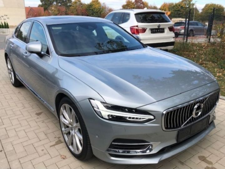 Volvo S90 T8 TWIN ENGINE 320 + 87CH INSCRIPTION LUXE GEARTRONIC GRIS Occasion - 2