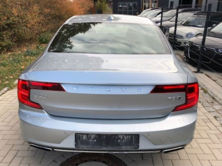 Volvo S90 T8 TWIN ENGINE 320 + 87CH INSCRIPTION LUXE GEARTRONIC GRIS Occasion - 3