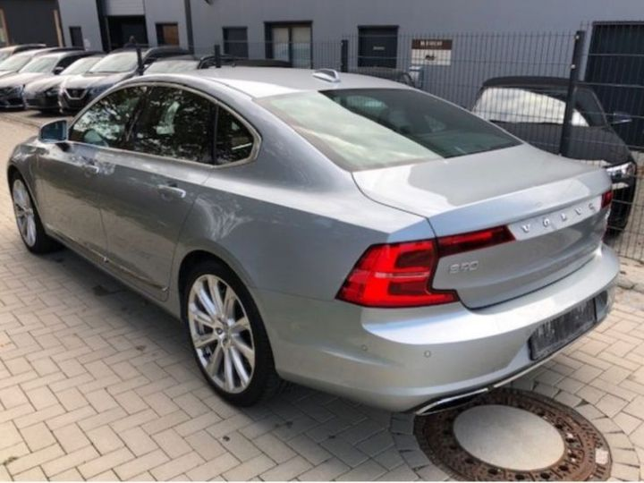 Volvo S90 T8 TWIN ENGINE 320 + 87CH INSCRIPTION LUXE GEARTRONIC GRIS Occasion - 4