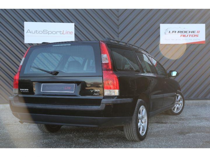 Volvo V70 2.4 T AWD 4 roues Motrices Garantie Noir - 5