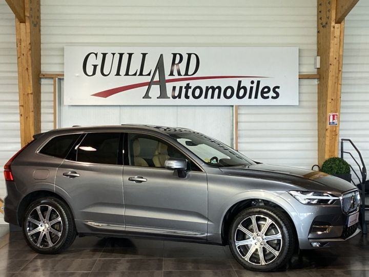 Volvo XC60 B5 AWD 235ch INSCRIPTION LUXE GEARTRONIC 8 GRIS FONCE - 3