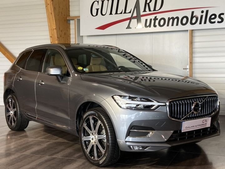 Volvo XC60 B5 AWD 235ch INSCRIPTION LUXE GEARTRONIC 8 GRIS FONCE - 4