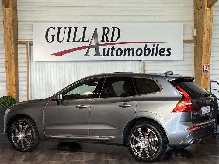 Volvo XC60 B5 AWD 235ch INSCRIPTION LUXE GEARTRONIC 8 GRIS FONCE - 5