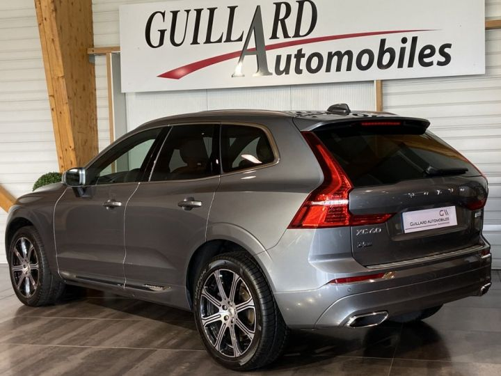 Volvo XC60 B5 AWD 235ch INSCRIPTION LUXE GEARTRONIC 8 GRIS FONCE - 6