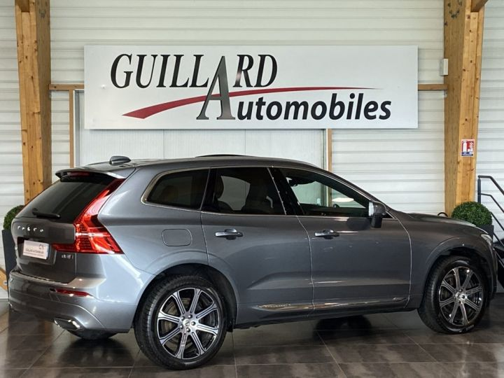 Volvo XC60 B5 AWD 235ch INSCRIPTION LUXE GEARTRONIC 8 GRIS FONCE - 7