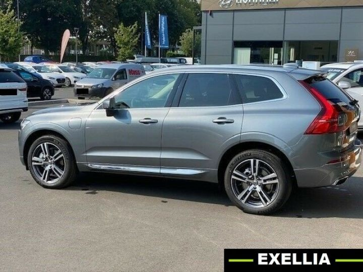 Volvo XC60 RECHARGE T8 GRIS PEINTURE METALISE  Occasion - 3