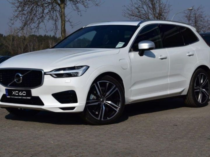 Volvo XC60 T8 TWIN ENGINE 320 + 87CH R-DESIGN GEARTRONIC BLANC Occasion - 1