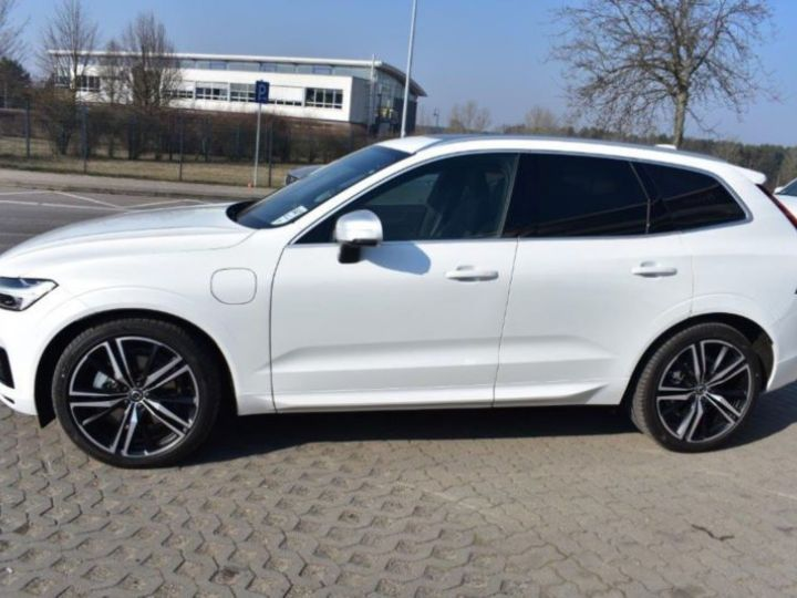 Volvo XC60 T8 TWIN ENGINE 320 + 87CH R-DESIGN GEARTRONIC BLANC Occasion - 2