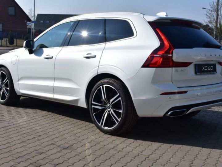Volvo XC60 T8 TWIN ENGINE 320 + 87CH R-DESIGN GEARTRONIC BLANC Occasion - 3