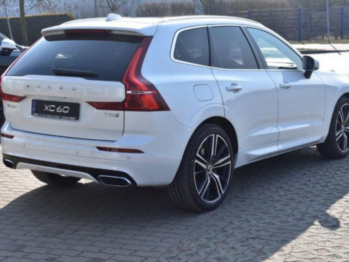 Volvo XC60 T8 TWIN ENGINE 320 + 87CH R-DESIGN GEARTRONIC BLANC Occasion - 5