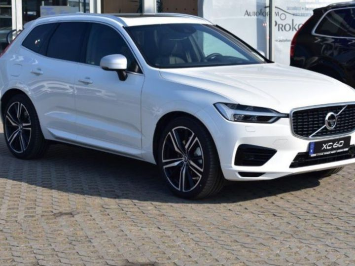 Volvo XC60 T8 TWIN ENGINE 320 + 87CH R-DESIGN GEARTRONIC BLANC Occasion - 7