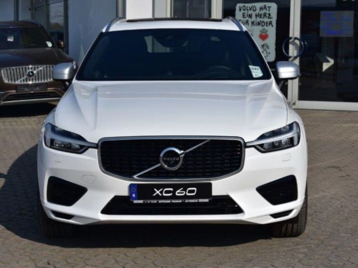 Volvo XC60 T8 TWIN ENGINE 320 + 87CH R-DESIGN GEARTRONIC BLANC Occasion - 8