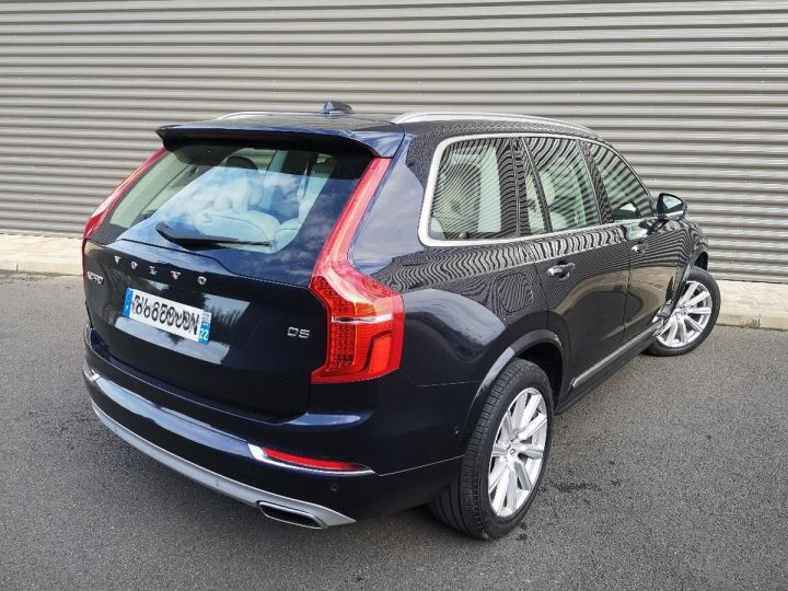 Volvo XC90 2 ii d5 225 awd inscription luxe 7 pl i Bleu Occasion - 3