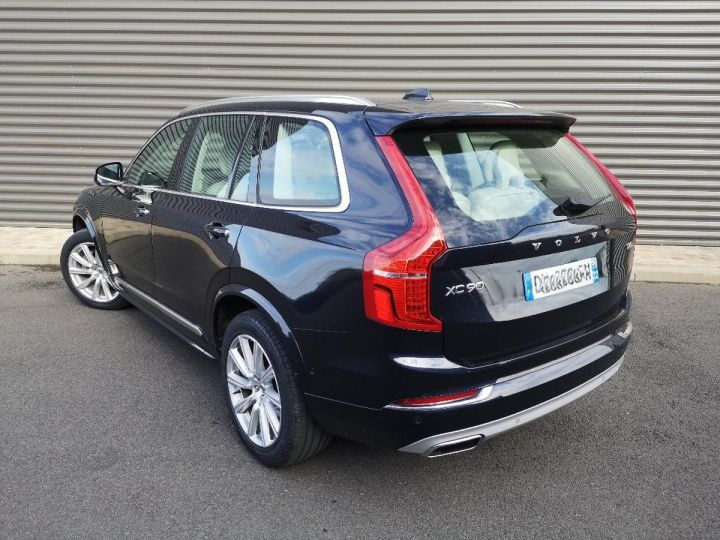 Volvo XC90 2 ii d5 225 awd inscription luxe 7 pl i Bleu Occasion - 4