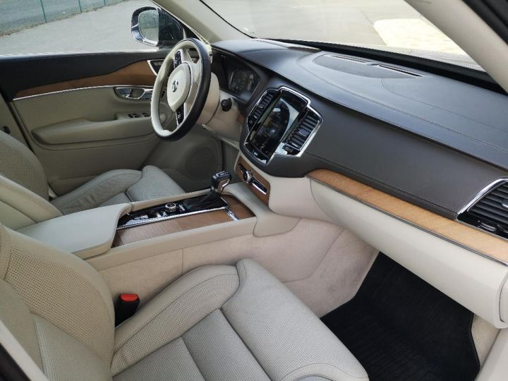 Volvo XC90 2 ii d5 225 awd inscription luxe 7 pl o Bleu Occasion - 5