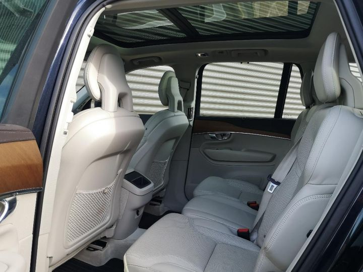 Volvo XC90 2 ii d5 225 awd inscription luxe 7 pl o Bleu Occasion - 6