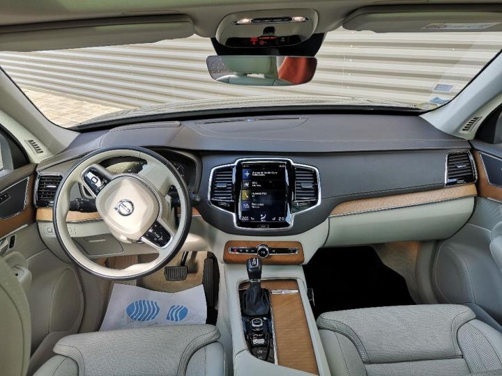 Volvo XC90 2 ii d5 225 awd inscription luxe 7 pl o Bleu Occasion - 8
